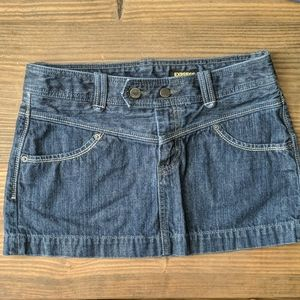 Express Denim Miniskirt